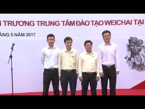Embedded thumbnail for Le Khai truong Trung tam dao tao Weichai tai Hanoi  10 5 2017 full