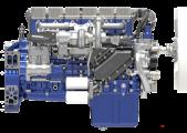 Động cơ diesel xe tải WP12/WP13